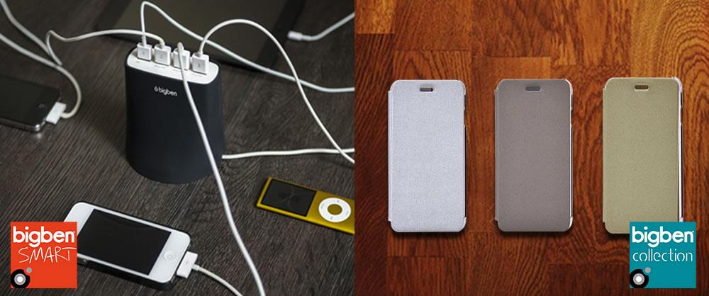 Bigben - Gamme de produits pour Smartphones et Tablettes (Bigben Smart & Bigben Collection)