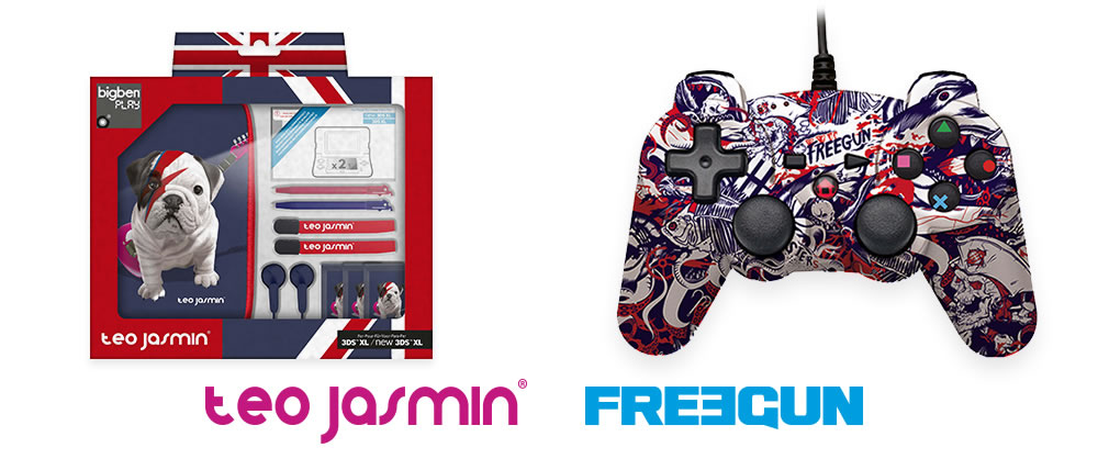 Bigben - Accesoires de jeu - Licences Téo Jasmin et FREEGUN
