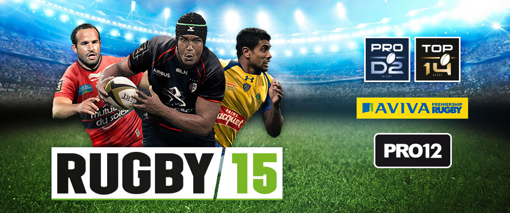 RUGBY 15, a great videogame success in 2014 for Bigben Interactive